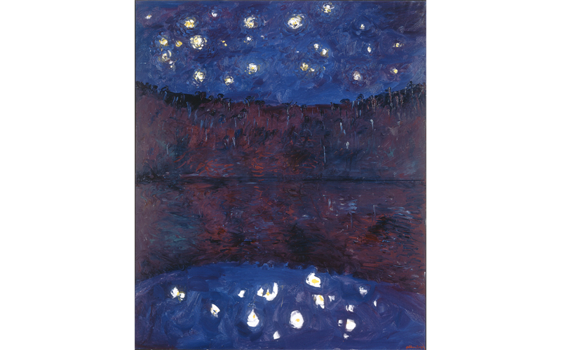 Arthur Boyd, Starry Night, Shoalhaven River, 1984