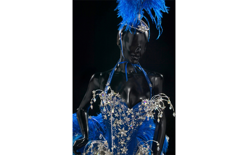 Detail of costume designed by John Galliano, Kylie Showgirl: The Greatest Hits tour, 2005