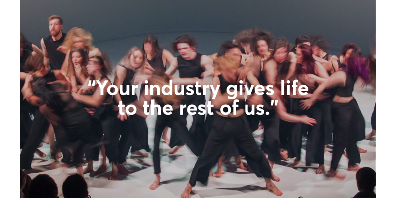 Your industry gives life to the rest of us