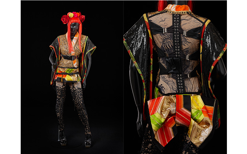 Costume designed by Jean Paul Gaultier for Kylie X2008 tour