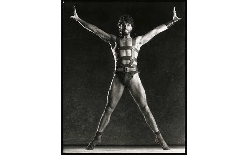 Steven Heathcote in the title role of 'Spartacus', The Australian Ballet, 1990