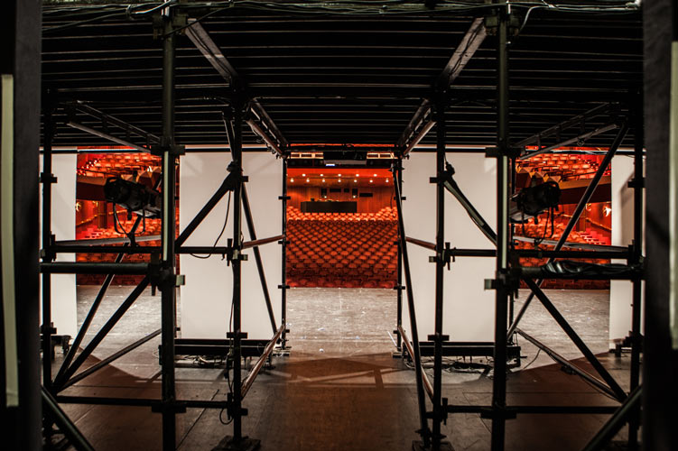 Arts Center Melbourne Empty Stage