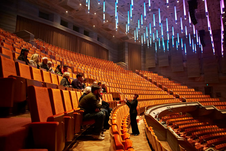 Arts Centre Melbourne empty seating