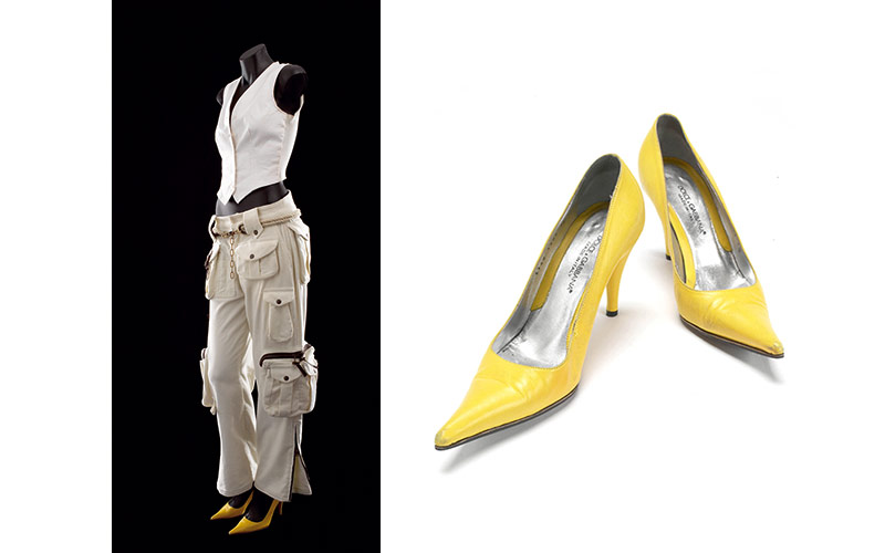 Kylie Minogue Encore costume and shoes