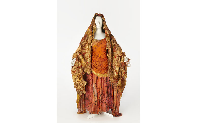 Costume worn by Joan Sutherland in the title role of Lakme