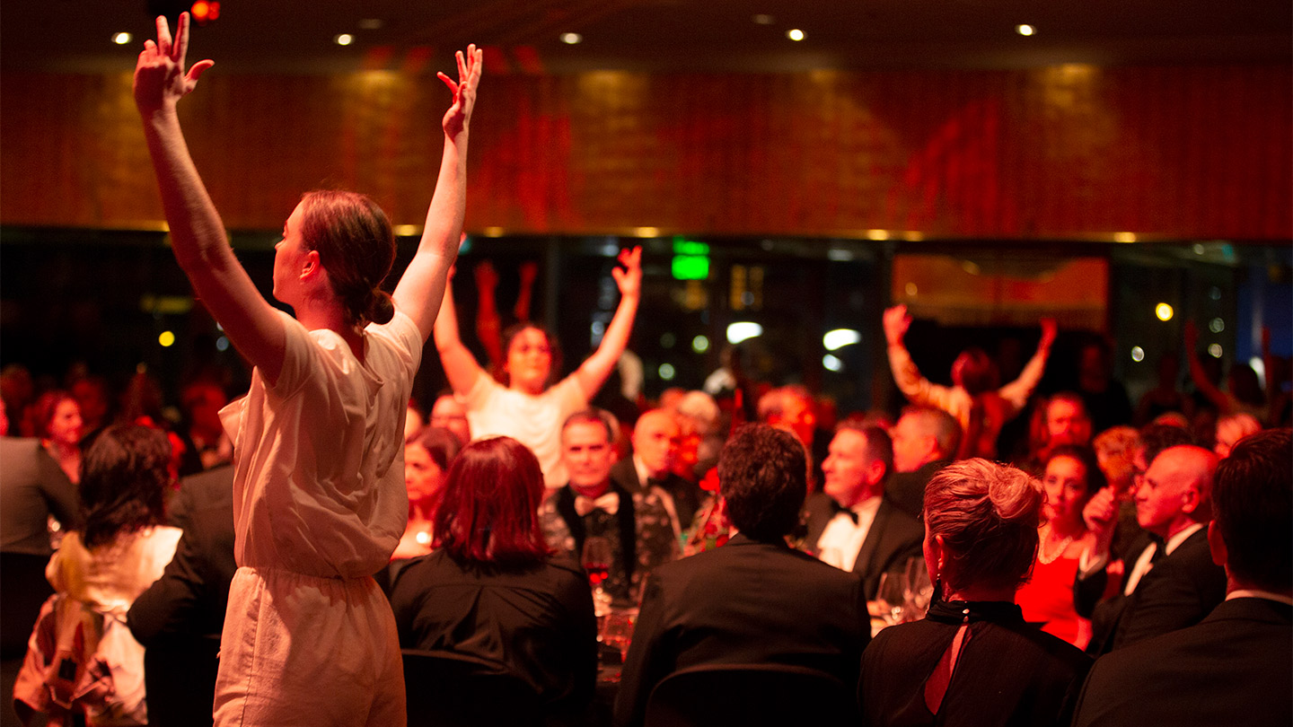 Arts Centre Melbourne's Ovation fundraising gala