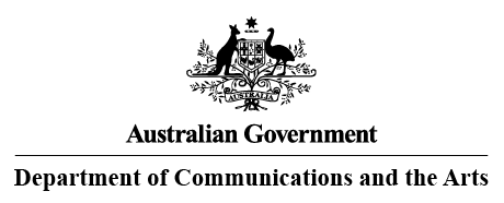 Australian Government Department of Communications and the Arts