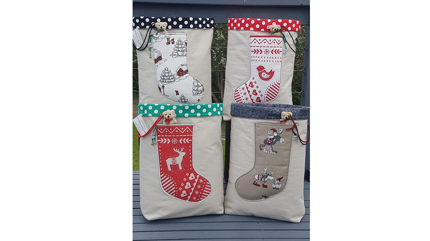 Crafty Jack christmas bags