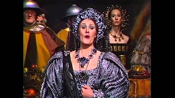 Step back in time with Dame Joan Sutherland