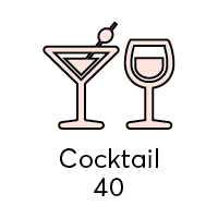Melbourne Room: Cocktails Capacity - 40